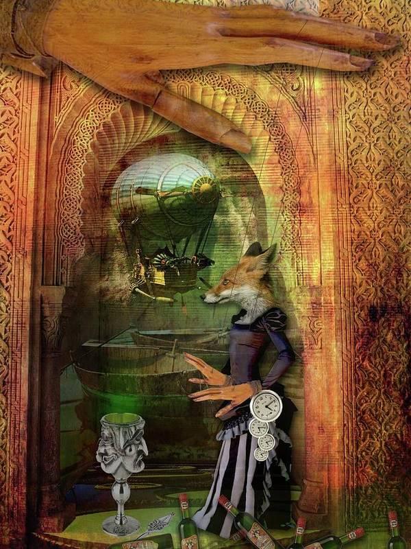 Fox Poster featuring the photograph Absinthe Of Faith by Deile Smith
