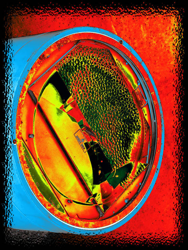 Light Poster featuring the digital art Sidelight by Wendy J St Christopher