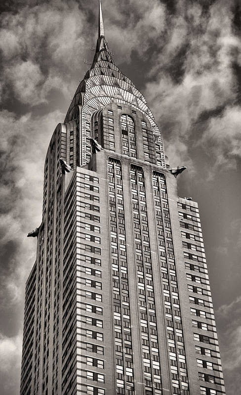 Chrysler Building Poster featuring the photograph Iconic by JC Findley