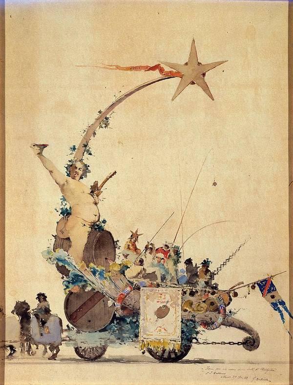 Entertainment Poster featuring the photograph Dalbono Edoardo, Entertainment by Everett