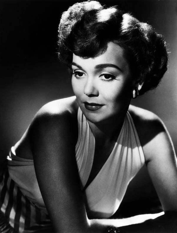 1940s Portraits Poster featuring the photograph Night And Day, Jane Wyman, 1946 by Everett