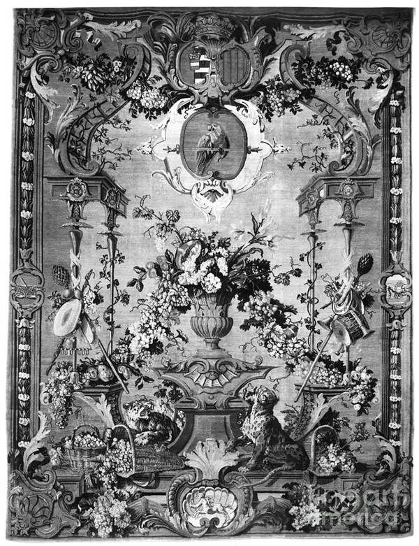 1800 Poster featuring the photograph Savonnerie Panel C1800 by Granger