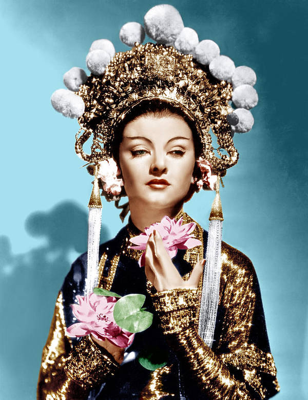 1930s Movies Poster featuring the photograph The Mask Of Fu Manchu, Myrna Loy, 1932 by Everett