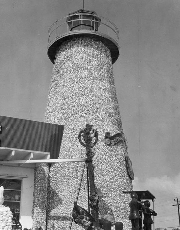 Rare Poster featuring the photograph Lighthouse by Retro Images Archive