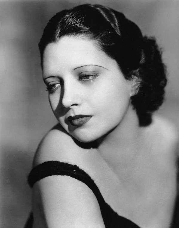 1930s Hairstyles Poster featuring the photograph I Found Stella Parish, Kay Francis, 1935 by Everett