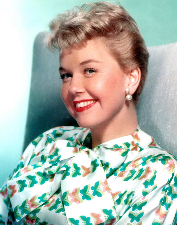 1950s Portraits Poster featuring the photograph Doris Day, Warner Brothers, 1950s by Everett