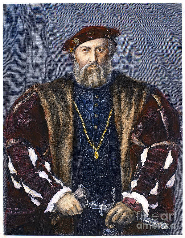 15th Century Poster featuring the photograph Ludovico Sforza (1452-1508) by Granger