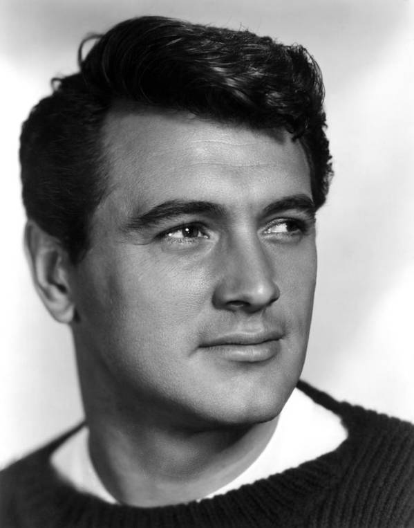 1950s Portraits Poster featuring the photograph Rock Hudson, Ca. 1950s by Everett