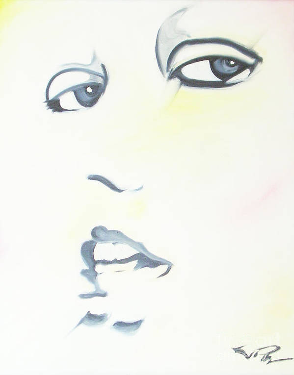 Essense Poster featuring the painting Essense by Joseph Palotas