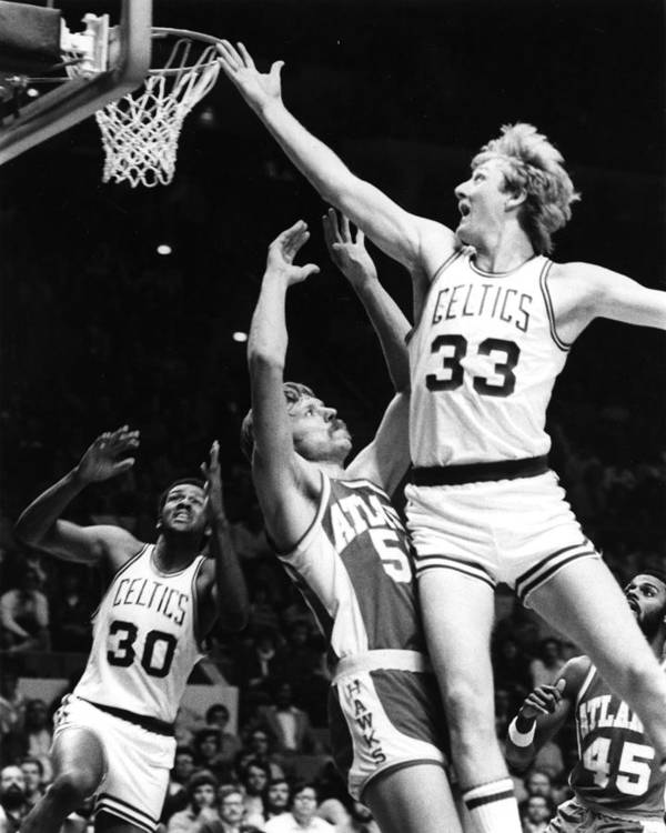 classic Poster featuring the photograph Larry Bird by Retro Images Archive