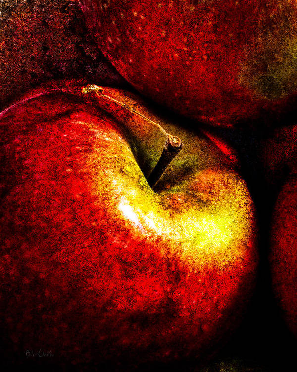 Apple Poster featuring the photograph Apples by Bob Orsillo