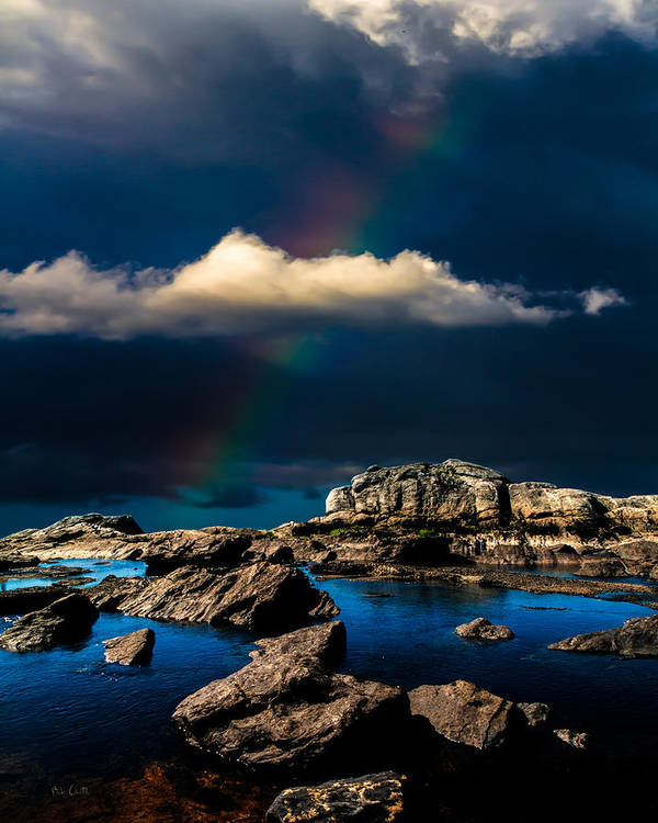 Rainbow Poster featuring the photograph Secret Place II by Bob Orsillo