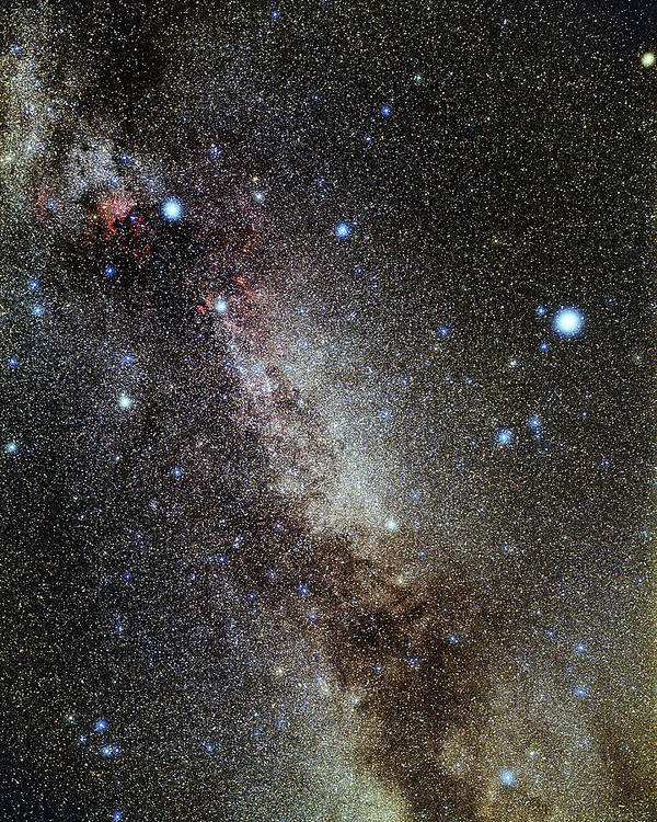 Deneb Poster featuring the photograph Cygnus And Lyra Constellations by Eckhard Slawik