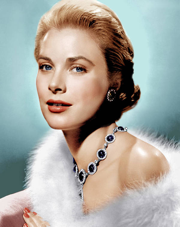 1950s Portraits Poster featuring the photograph Grace Kelly, Ca. 1955 by Everett