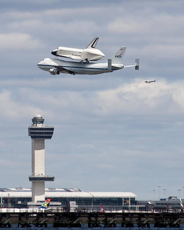 Shuttle Enterprise Poster featuring the photograph Shuttle Enterprise by Roni Chastain