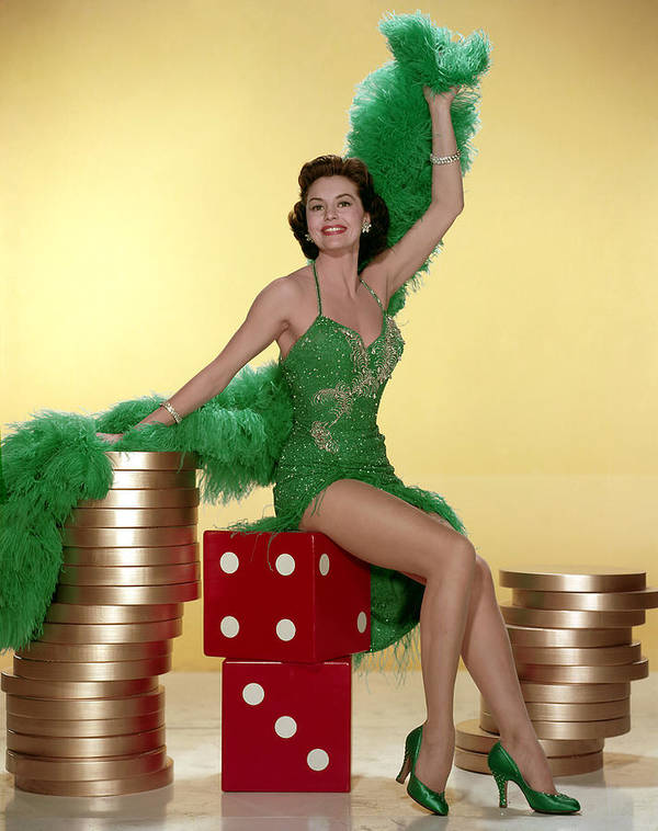 1950s Portraits Poster featuring the photograph Cyd Charisse by Everett
