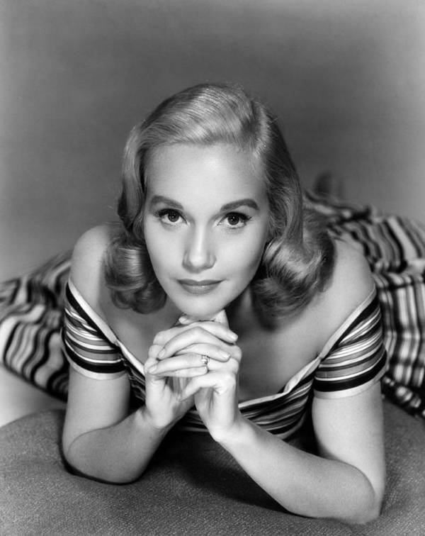 1950s Fashion Poster featuring the photograph Eva Marie Saint, Ca. 1950s by Everett
