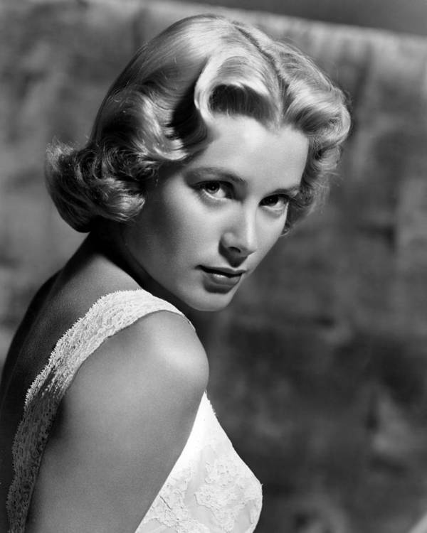 1950s Portraits Poster featuring the photograph Grace Kelly, 1953 by Everett