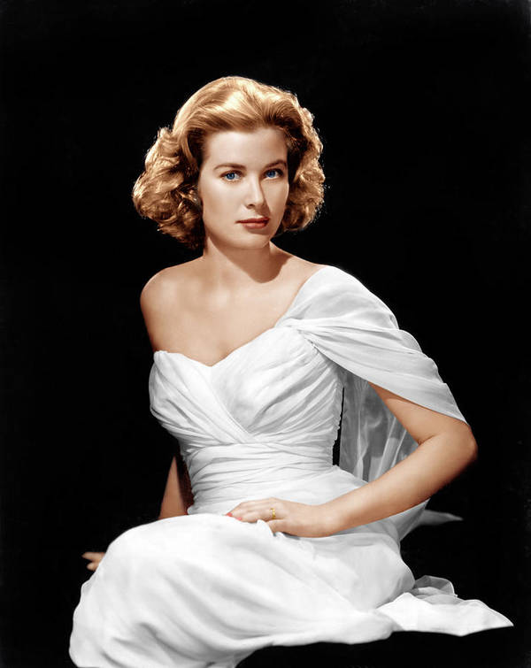 1950s Portraits Poster featuring the photograph Grace Kelly, Ca. 1954 by Everett