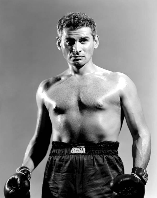 1950s Portraits Poster featuring the photograph Iron Man, Jeff Chandler, 1951 by Everett