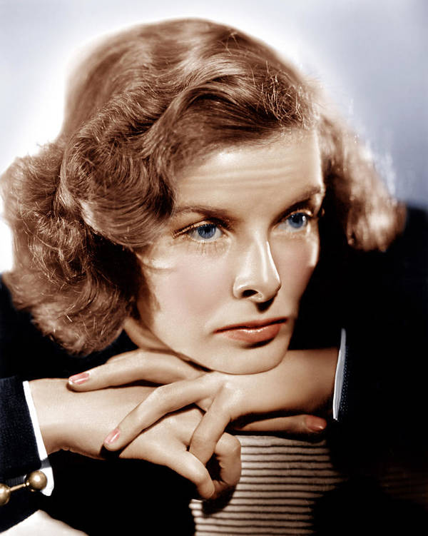 1930s Portraits Poster featuring the photograph Katharine Hepburn, Ca. 1935 by Everett