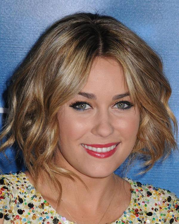 Mtv Hosts The Hills Season 4 Finale Poster featuring the photograph Lauren Conrad At Arrivals For Mtv Hosts by Everett