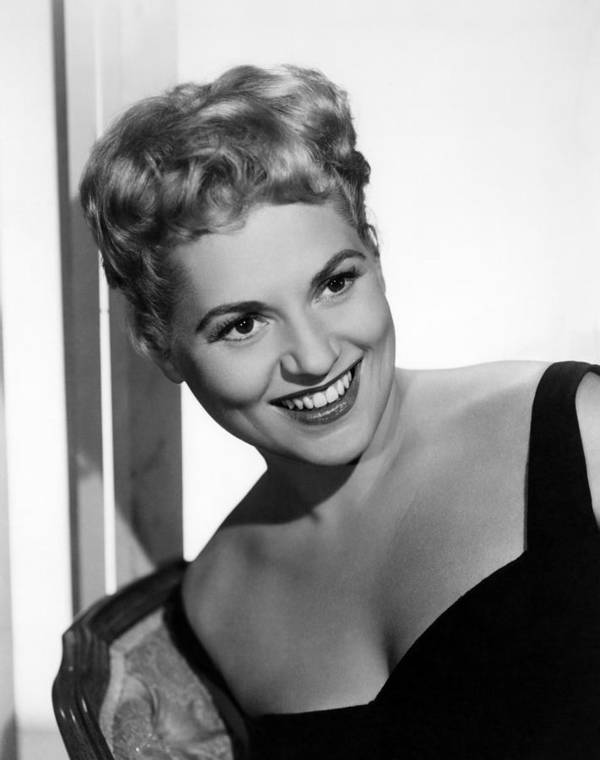 1950s Portraits Poster featuring the photograph Phffft, Judy Holliday, 1954 by Everett