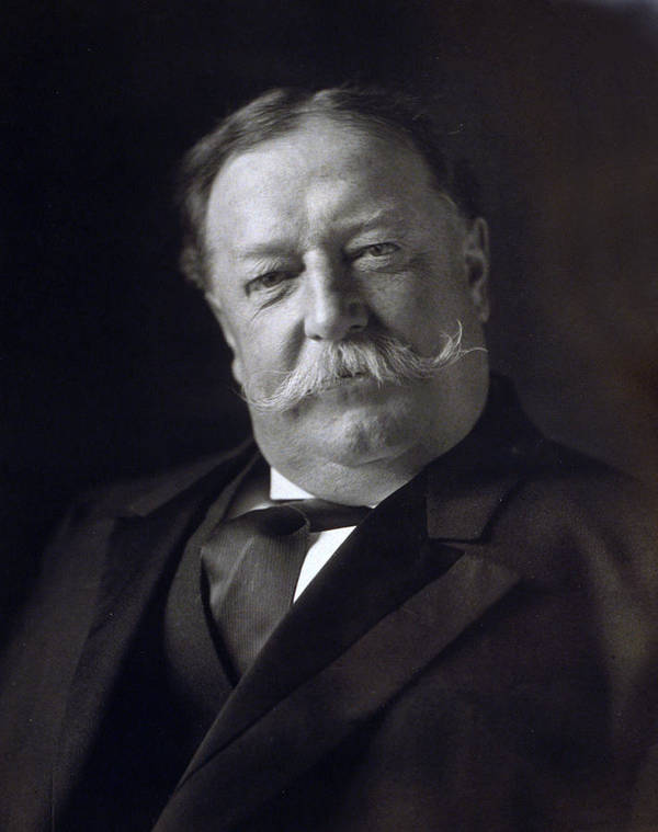 william Howard Taft Poster featuring the photograph President William Howard Taft by International Images