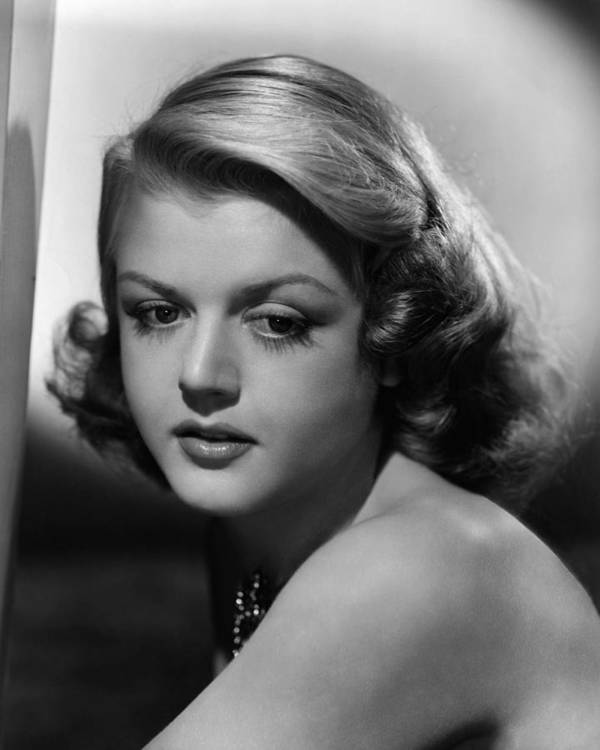 1940s Portraits Poster featuring the photograph Angela Lansbury, 1948 by Everett