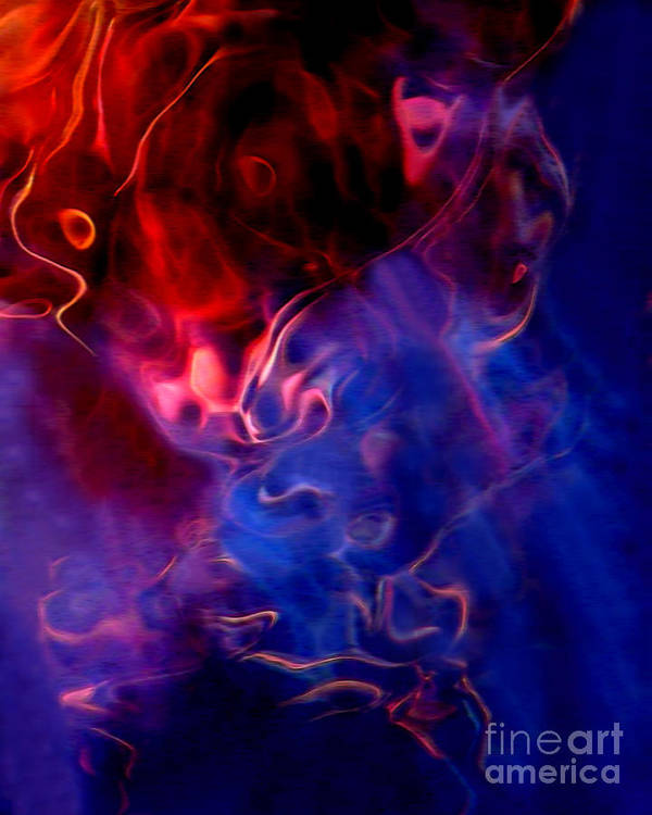 Abstract Poster featuring the photograph Taurus by Terril Heilman