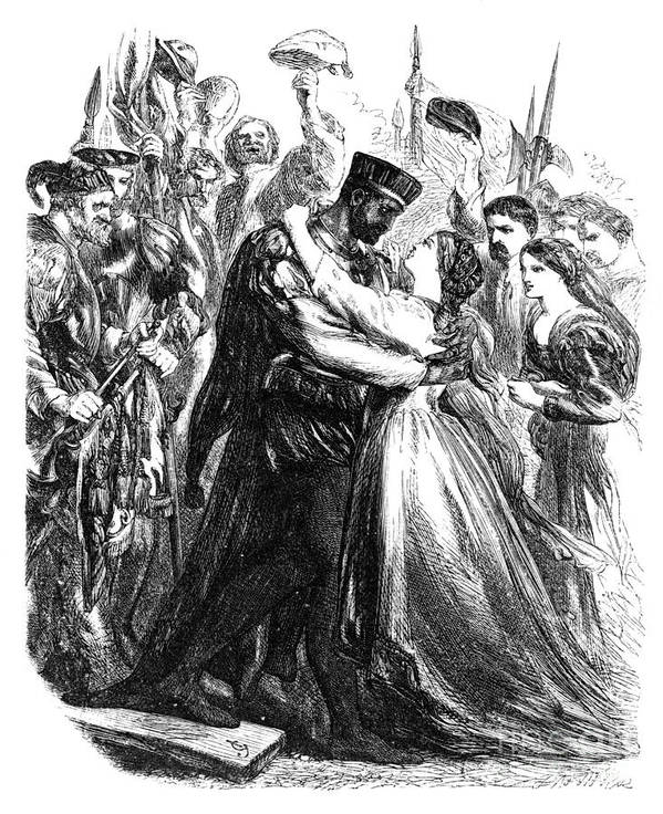 1603 Poster featuring the photograph Shakespeare: Othello by Granger