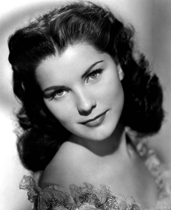 1950s Portraits Poster featuring the photograph Anne Of The Indies, Debra Paget, 1951 by Everett