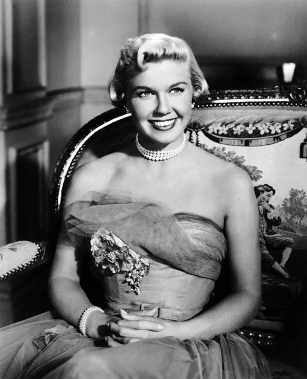 1950s Portraits Poster featuring the photograph Lullaby Of Broadway, Doris Day, 1951 by Everett