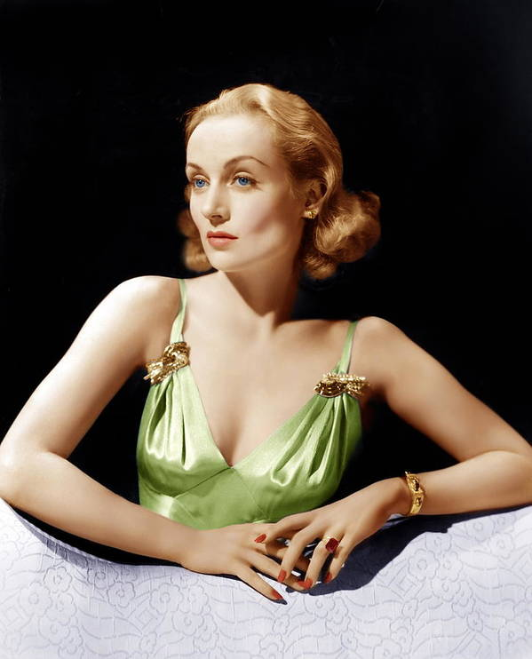 1940 Movies Poster featuring the photograph Vigil In The Night, Carole Lombard, 1940 by Everett