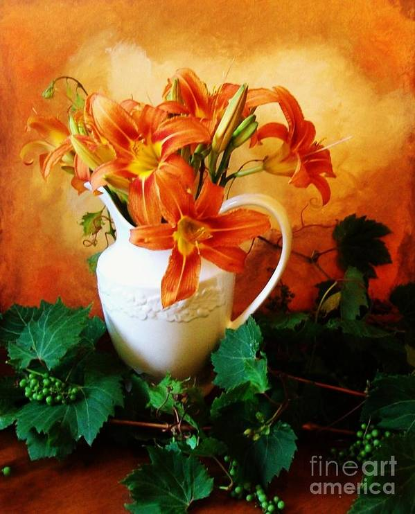 Photo Poster featuring the photograph Tuscany Bouquet by Marsha Heiken