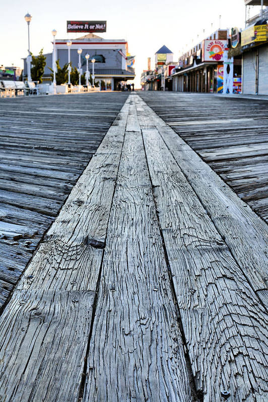 The Boardwalk Poster featuring the photograph The Boardwalk by JC Findley