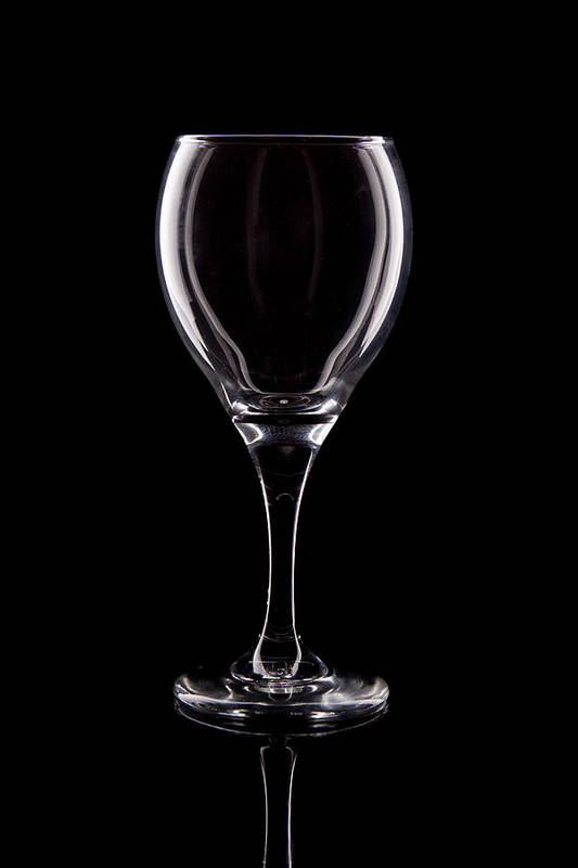 Wine Poster featuring the photograph Wineglass by Tom Mc Nemar