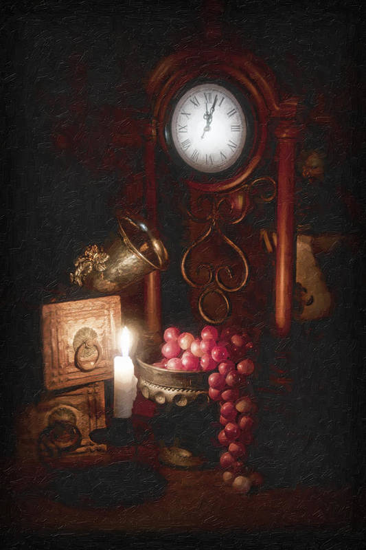 Grapes Poster featuring the photograph After Midnight by Tom Mc Nemar