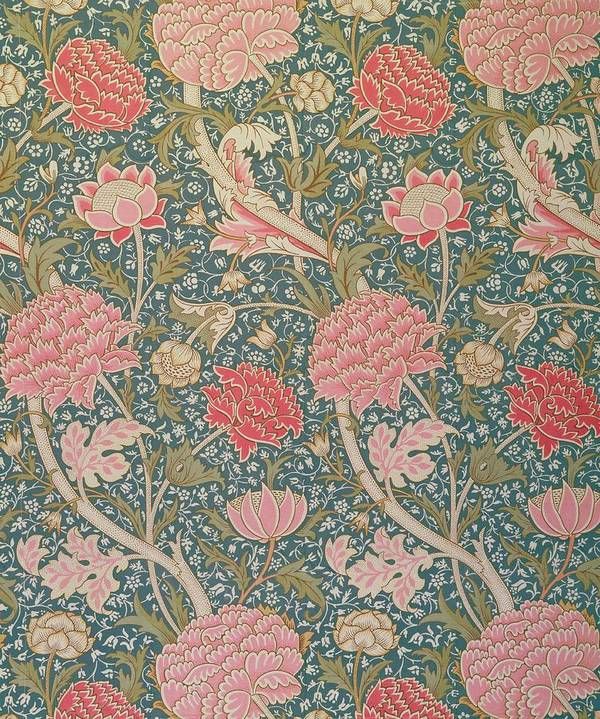 Arts And Crafts Movement Poster featuring the tapestry - textile Cray by William Morris