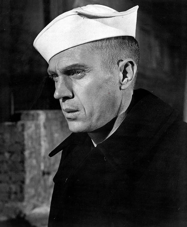 Retro Images Archive Poster featuring the photograph Steve Mcqueen As Sailor by Retro Images Archive