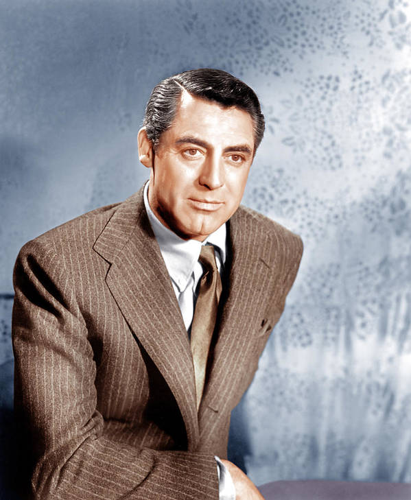 1940s Portraits Poster featuring the photograph Cary Grant, Ca. 1949 by Everett
