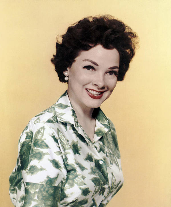 1950s Portraits Poster featuring the photograph Kathryn Grayson, Ca 1950s by Everett