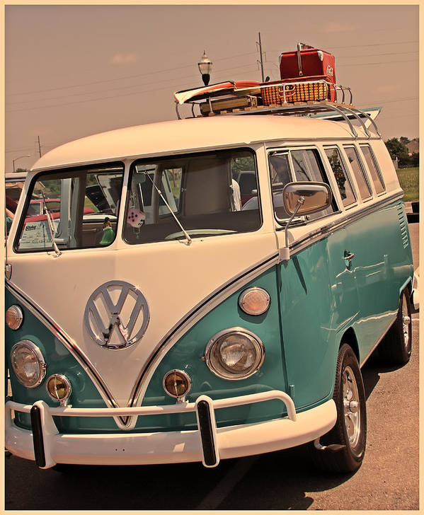 Cars Poster featuring the photograph Let's Go Surf'in by Tony Grider