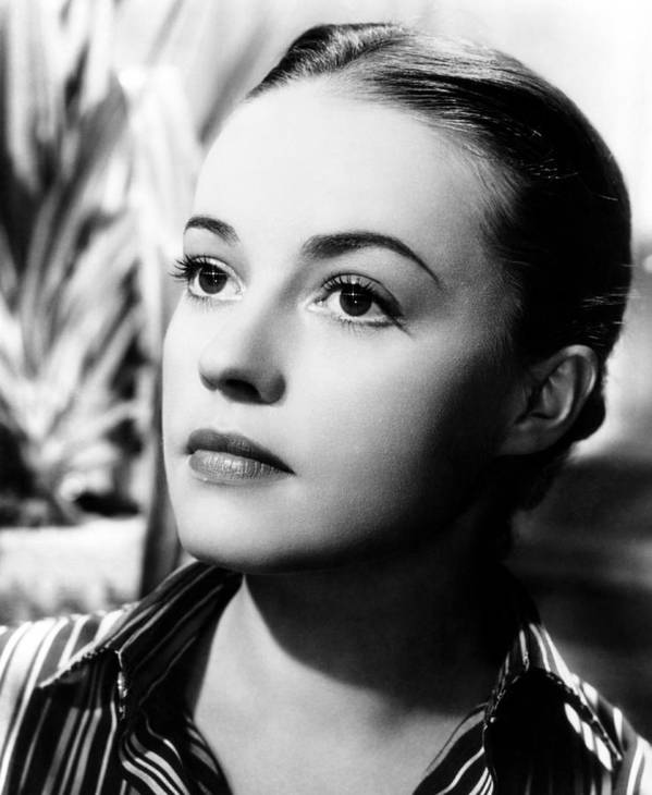 1950s Portraits Poster featuring the photograph The Bed, Jeanne Moreau, 1954 by Everett