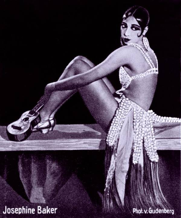 History Poster featuring the photograph Josephine Baker 1906-1975, African by Everett