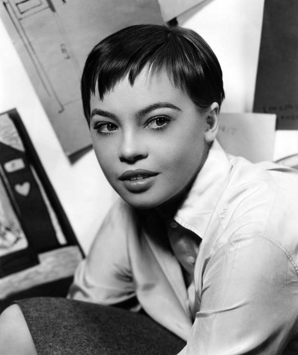 1950s Portraits Poster featuring the photograph Leslie Caron, Ca. 1950s by Everett