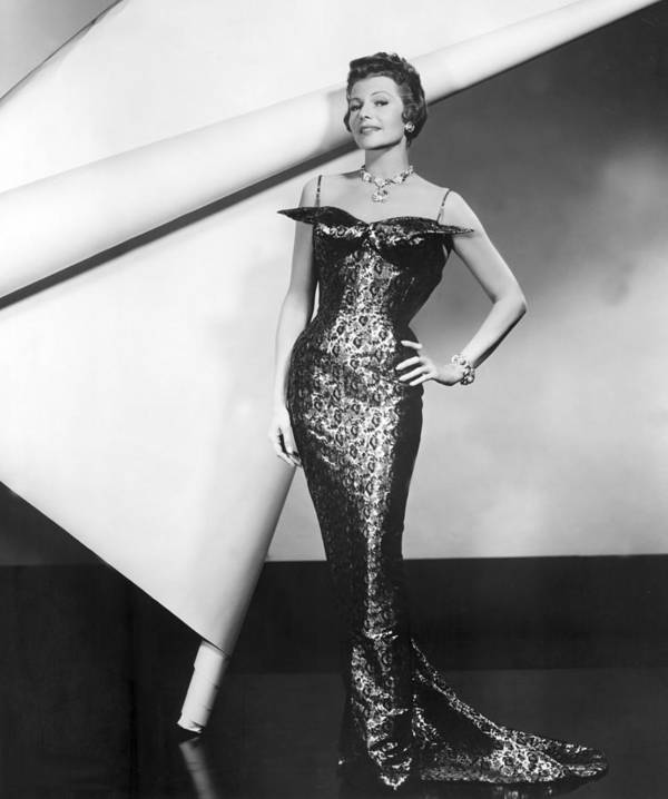 1950s Fashion Poster featuring the photograph Rita Hayworth In Publicity Pose For Pal by Everett
