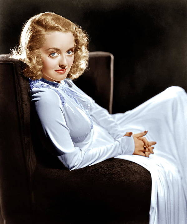 1930s Portraits Poster featuring the photograph Bette Davis, Ca. Late 1930s by Everett