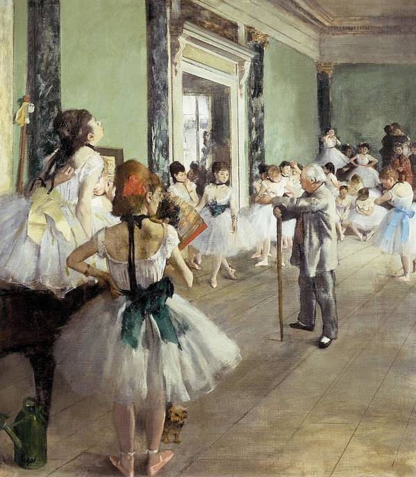 Vertical Poster featuring the photograph Degas, Edgar 1834-1917. The Dancing by Everett