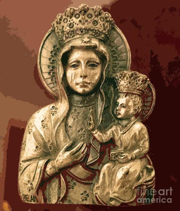 Czestochowa Poster featuring the photograph Sacred Icon by Patricia Januszkiewicz